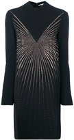 Stella McCartney roll neck embellished dress - women - Spandex/Elastane/Acetate/Viscose/Aluminium - 40