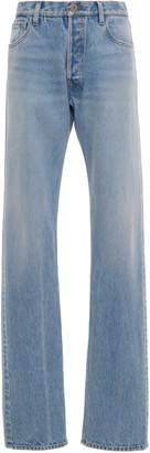 ATTICO Rigid Mid-Rise Straight-Leg Jean