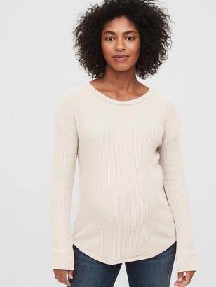 Gap Maternity Waffle-Knit T-Shirt