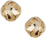Greenbeads by Emily & Ashley Cushion-Cut Crystal Stud Earrings, Gold