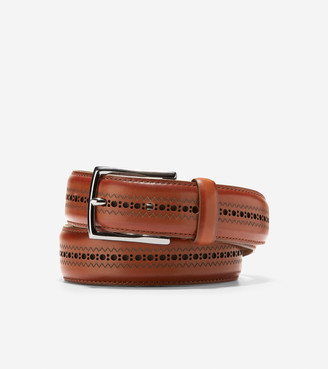 Cole Haan Feathercraft 32mm Laser Perforated Belt