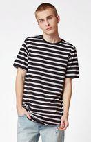 PacSun Wen Striped Scallop T-Shirt
