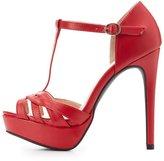 Charlotte Russe T-Strap Platform Heels