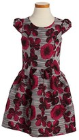 Iris & Ivy Floral Print Fit & Flare Dress (Toddler Girls, Little Girls & Big Girls)