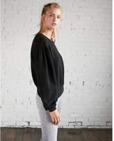 Express balloon sleeve sweatshirt