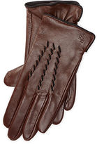 Ralph Lauren Whipstitched Leather Gloves