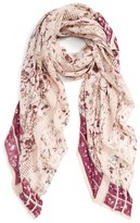 Hinge Women's Dream Floral Lace Wrap