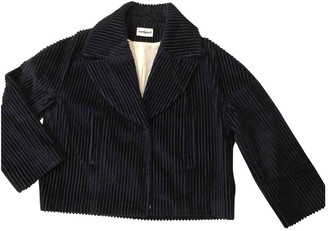 Cacharel Navy Cotton Jacket for Women