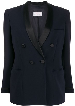 Alberto Biani Fitted Double-Breasted Blazer