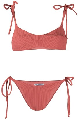 Sian Swimwear Sian ribbed textured bikini