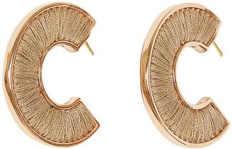 Mignonne Gavigan Fiona Mini Hoop Earrings - Rosegold