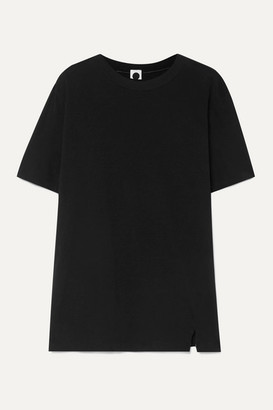 Bassike Organic Cotton-jersey T-shirt - Black