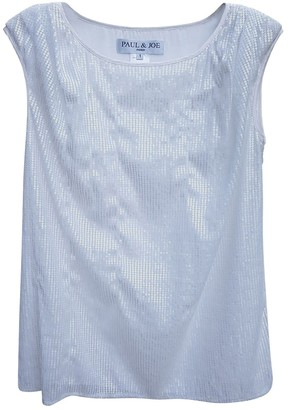 Paul & Joe White Silk Top for Women