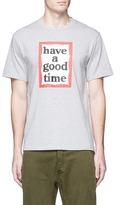 Have A Good Time Frame logo print T-shirt