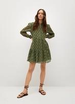 Thumbnail for your product : MANGO Geometric print dress