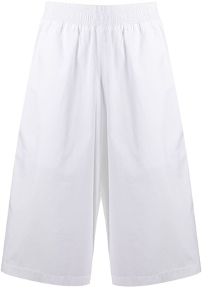Courreges Cropped Wide Leg Trousers