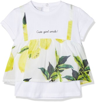 MEK Baby Girls' 181MEFN006 T-Shirt
