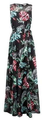 Dorothy Perkins Womens **Billie & Blossom Tall Black Floral Print Maxi Dress, Black