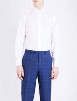 Canali Modern-fit cotton shirt