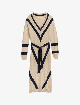 Ted Baker Berta wool-blend midi dress