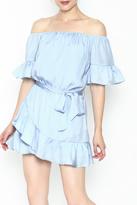 Hommage Ruffle Dress