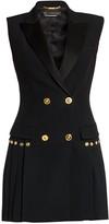Versace Envers Pleated Blazer Dress