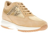 Hogan lace up trainer