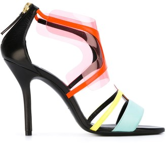 Pierre Hardy 'Shades' sandals