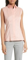BOSS Women's Bashiva Stretch Poplin Shirt