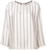 Forte Forte striped blouse - women - Viscose - 0