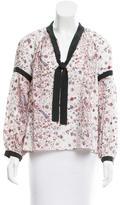 Ulla Johnson Floral Silk Blouse w/ Tags