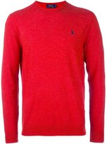 Polo Ralph Lauren crew neck jumper - men - Polyester/Wool - XXL