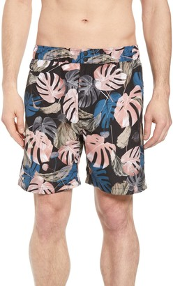 Saturdays NYC Trent Monstera Swim Shorts