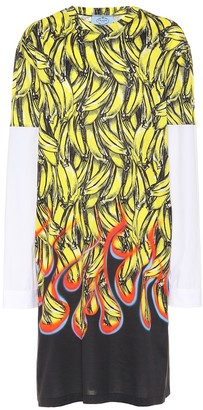 Prada Exclusive to Mytheresa a printed T-shirt dress