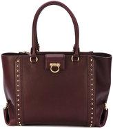 Salvatore Ferragamo studded tote bag