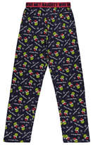 George Dr. Seuss The Grinch Christmas Loungewear Bottoms
