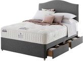 Rest Assured Tilbury Wool Tufted Divan Bed with Storage Options -Soft