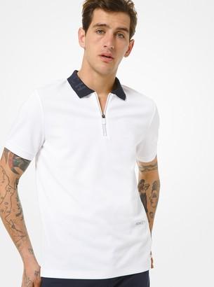 Michael Kors KORS X TECH Quarter-Zip Polo Shirt