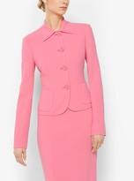 Michael Kors Stretch Wool-Crepe Jacket