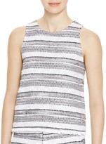 Generation Love Joel Textured Stripe Top
