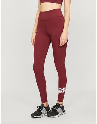 Selfridges Logo-print high-rise stretch-jersey leggings