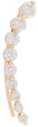 Anita Ko 18kt rose gold Floating diamond earring