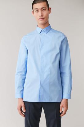 Cos Asymmetric-Placket Shirt