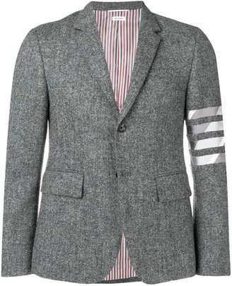 Thom Browne 4-bar Intarsia Duck Sport Coat