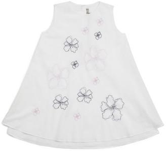 Il Gufo Tropical Flower Dress (3-12 Years)
