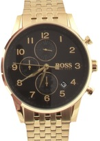 HUGO BOSS Navigator Watch Gold