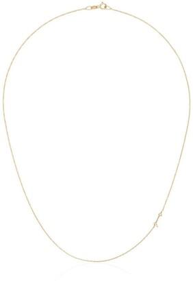 Lizzie Mandler Fine Jewelry 18kt Yellow Gold Mini Arrow Diamond Necklace