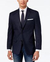 MICHAEL Michael Kors Men's Classic-Fit Blue Check Sport Coat