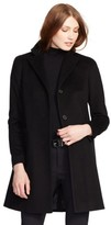 Lauren Ralph Lauren Petite Women's Wool Blend Reefer Coat