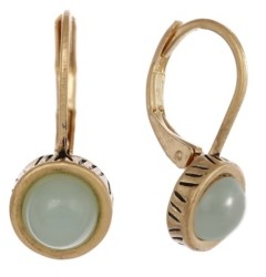 The Sak Gold-Tone Leverback Earrings